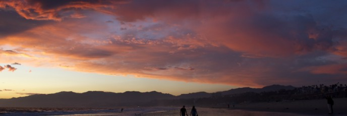20110930-After-Sunset-Santa-Monica-Beach